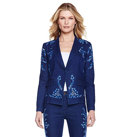 Andromeda Embroidered Couture Jacket - Antthony