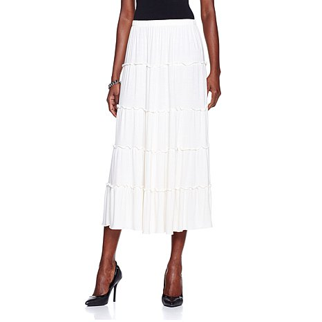 Jezanne Tiered Maxi Skirt - Antthony